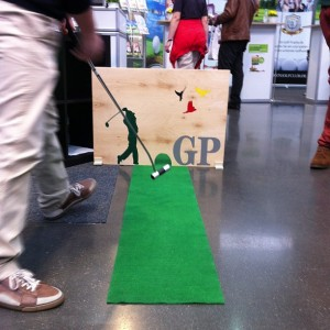 Golf Post - Putting Contest, Rheingolf
