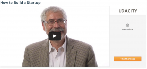 How to build a startup with Steve Blank auf Udacity