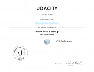 Udacity-Steve-Blank-How-to-build-a-Startup-Certificate