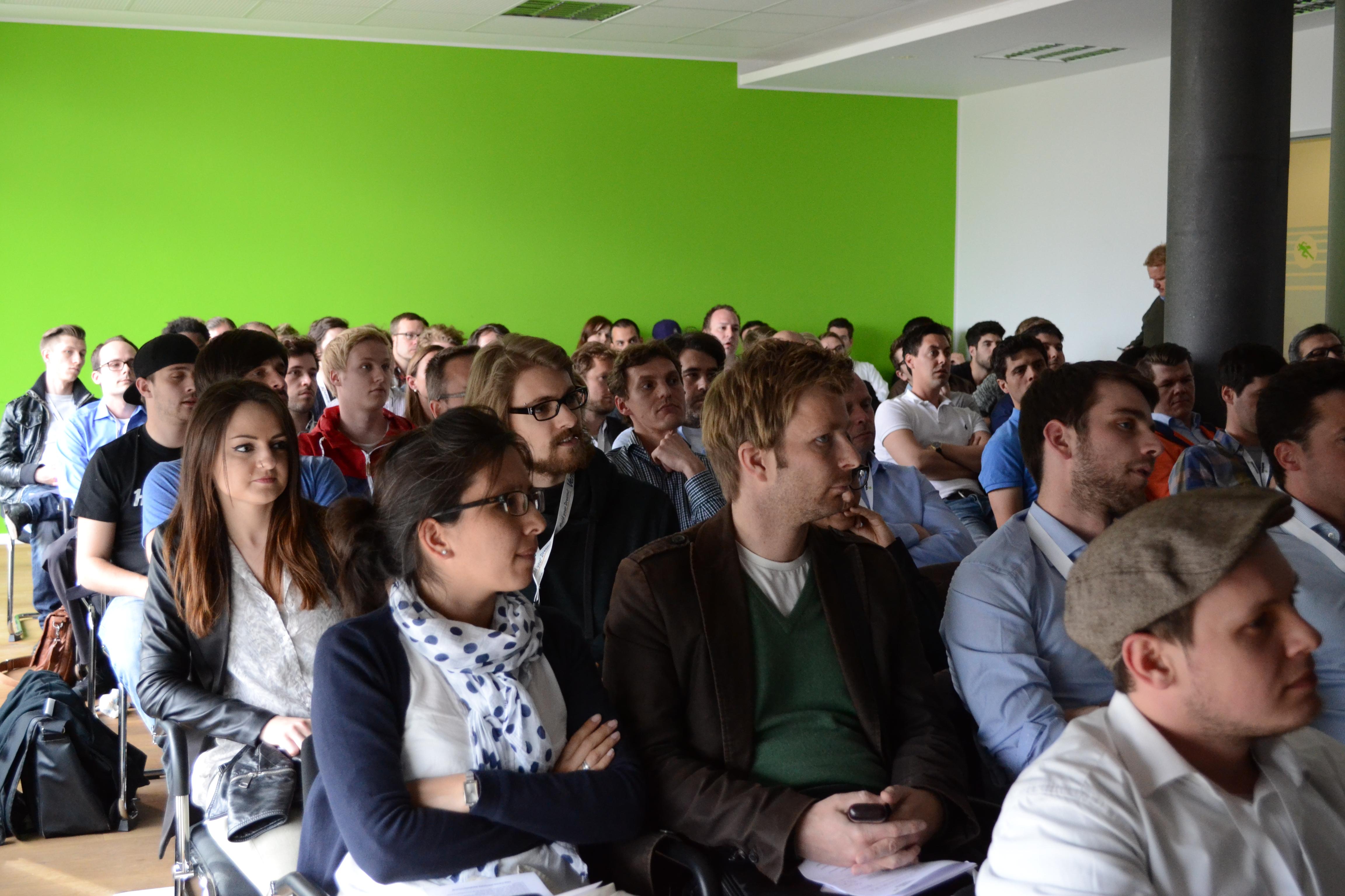 Das Publikum beim 13. Rheinland-Pitch