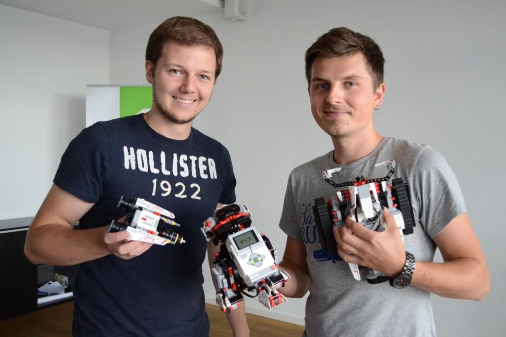Daniel Sachse (links) und Jacob Pawlik