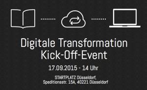 Digitale Transformation Kick-Off