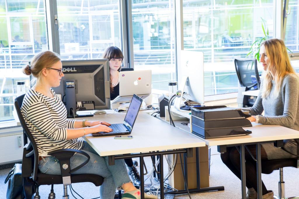 Gründerinnen in der Startup-Szene