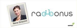 Radbonus Gründerin Nora Grazzini