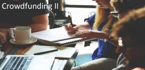 Crowdfunding II