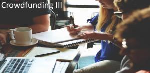 Crowdfunding III