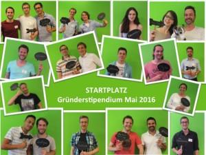 Stipendiaten Batch 10 Mai2016