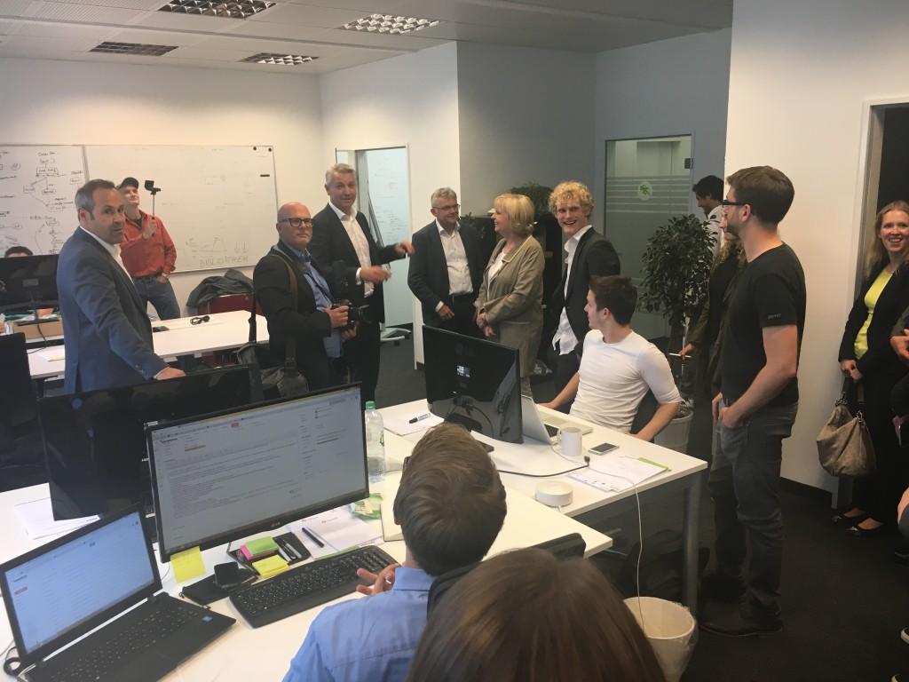 Hannelore Kraft zu Gast bei Crowdfox im STARTPLATZ