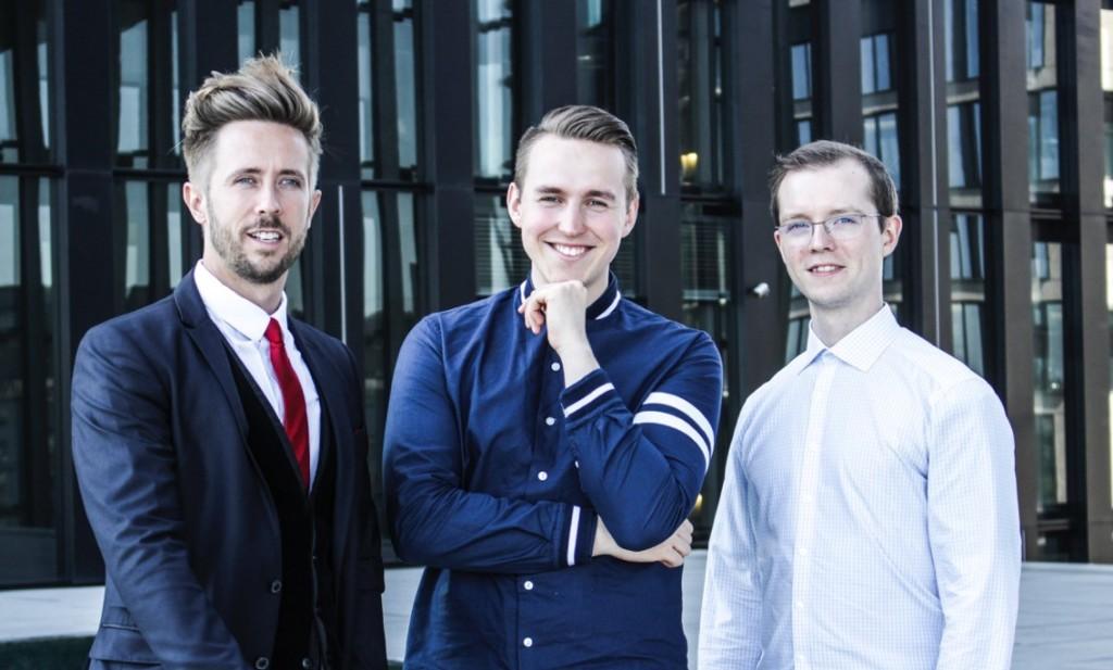 Felix Thönessen mit Max Schmietendorf und Marius Bozem, Gründer & Geschäftsführer von immoTerminal