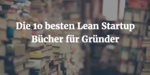 Lean Startup Bücher