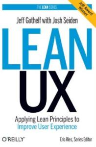 Lean UX_Lean Startup Buch