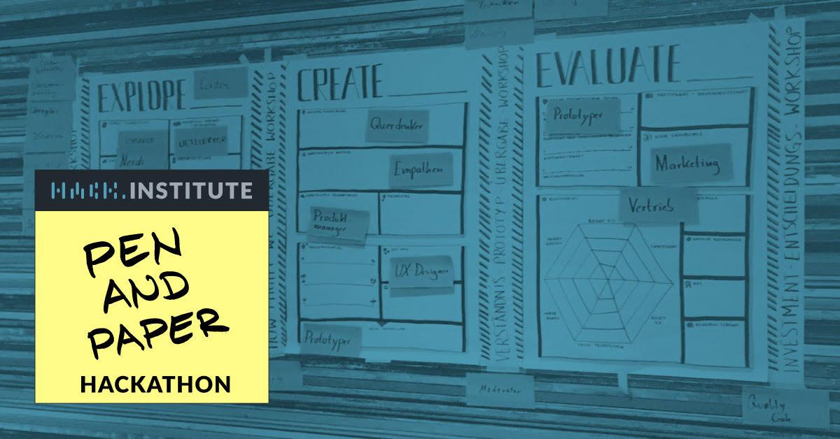 New Work Week Pen Paper Hackathon