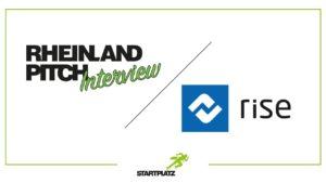Rheinland-Pitch Interview: rise technologies