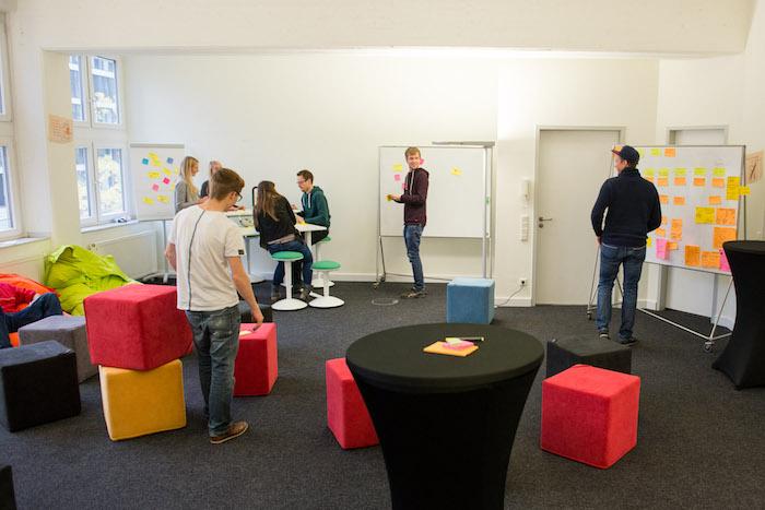 Design Thinking Konferenzraum