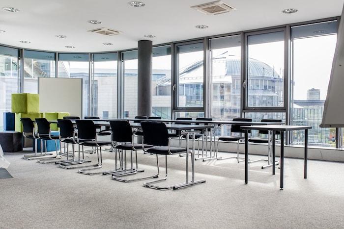 Konferenzraum zentral in Köln Mediapark