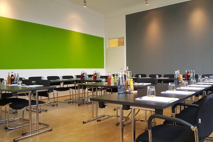 Tagungsraum Düsseldorf Blick auf den Medienhafen