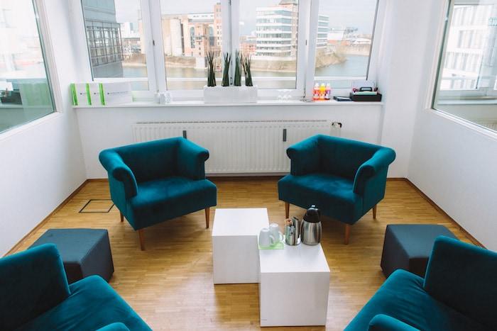 Meeting in Düsseldorf Medienhafen Startup Inkubator