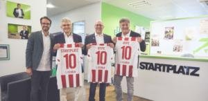 STARTPLATZ 1.FC & Hype Foundation starten Sport Accelerator für Startups im STARTPLATZ
