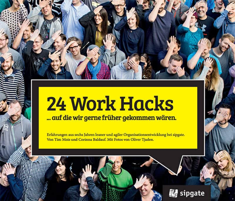 Sipgate Buch 24 Work Hacks