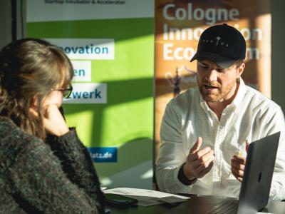 1:1 Sessions zwischen Startups und Investoren