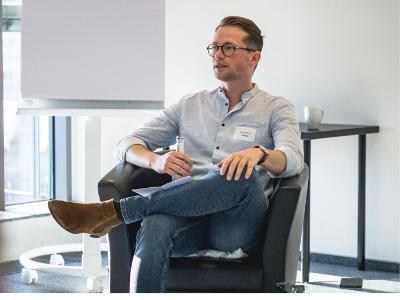 Panel-Talk mit Daniel Kirch von Taxy.io
