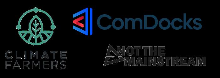 Logos der drei Teams