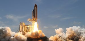 E-Commerce Produktlaunch Rakete