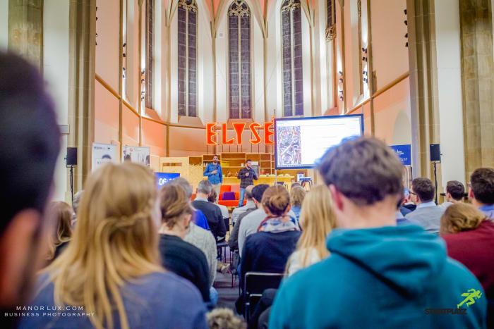 Rheinland Pitch Startup Bühne